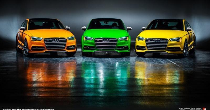 Audi's S3 super limited edition will come in 5 colors