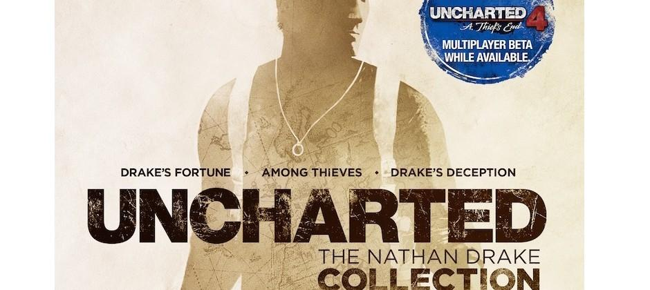 PS4's Uncharted: The Nathan Drake Collection confirmed for October release