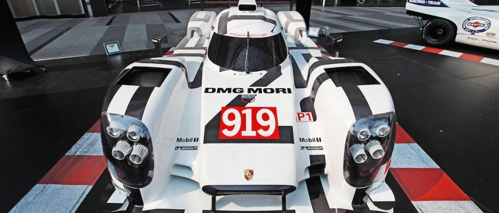 Porsche sold a 919 Hybrid replica model for over $100k