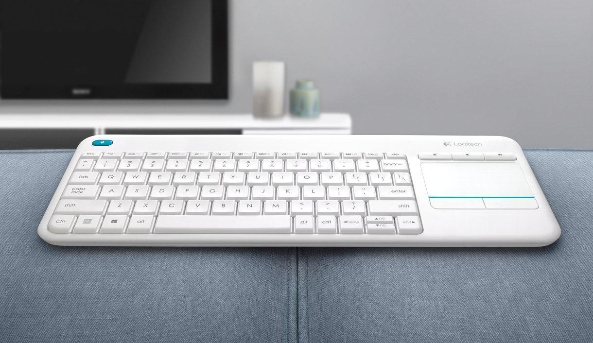 Logitech K400 Plus keyboard wants a spot on your sofa
