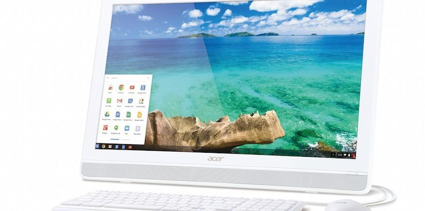 Acer debuts Chromebase all-in-one desktop with touch display