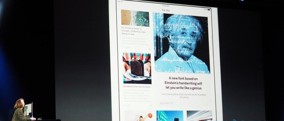 Apple News for iOS 9 takes on Flipboard