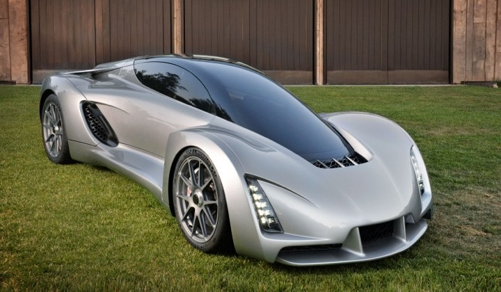 This 700hp 3D printed supercar wants to reinvent manufacturing