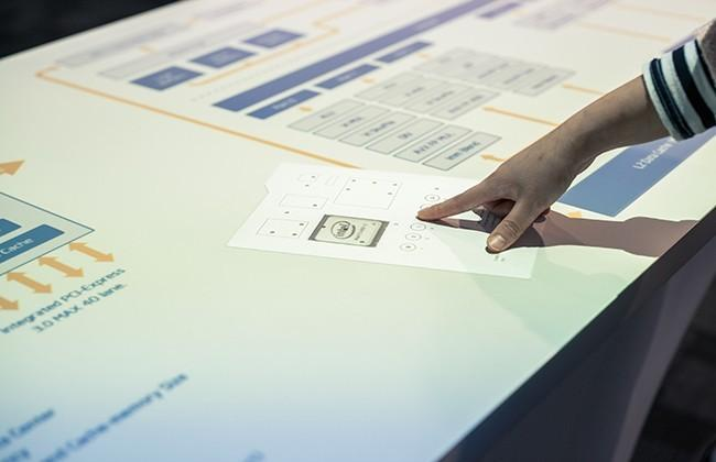 Japan's Takram develops paper-based input for projected display