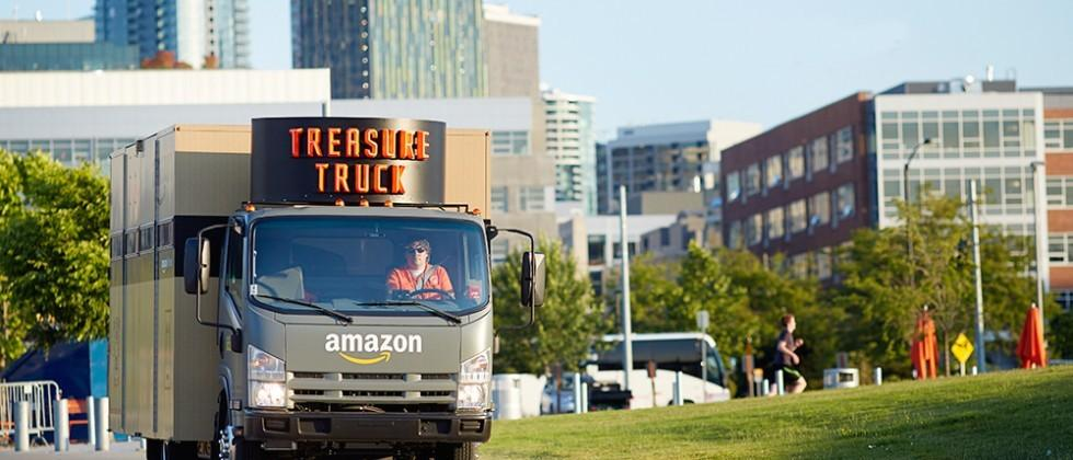 Amazon to offer special deals from its Treasure Truck in Seattle