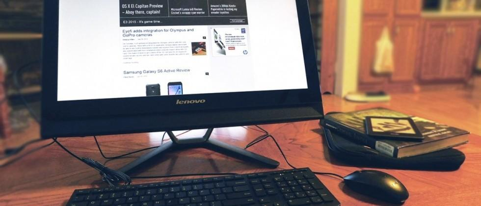 Review: Lenovo C40 — a general purpose all-in-one PC