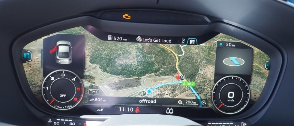 2016 Audi TT/TTS and Q7 Virtual Cockpit First-Drive