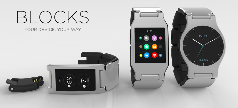 Blocks modular smartwatch teams with Qualcomm