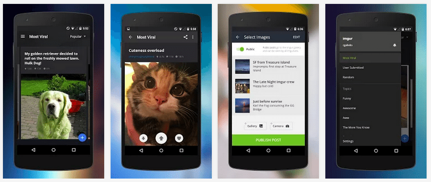 Imgur's first native Android app goes live
