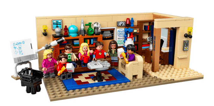 LEGO shows off official 'The Big Bang Theory' set