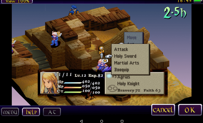 Final Fantasy Tactics now available from Google Play
