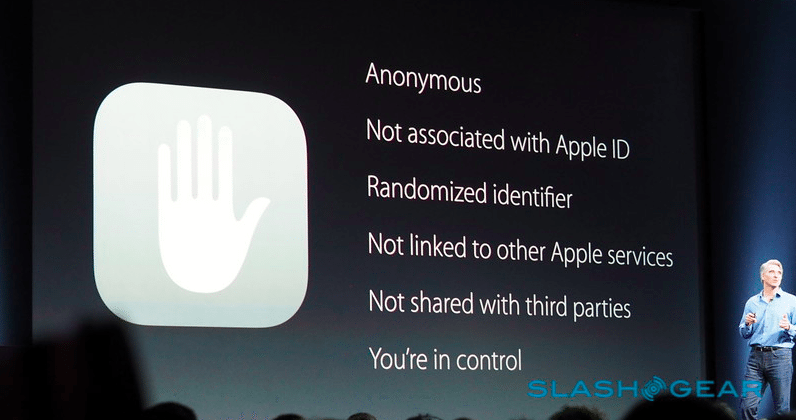 """Apple on privacy: """"You're in control"""""""