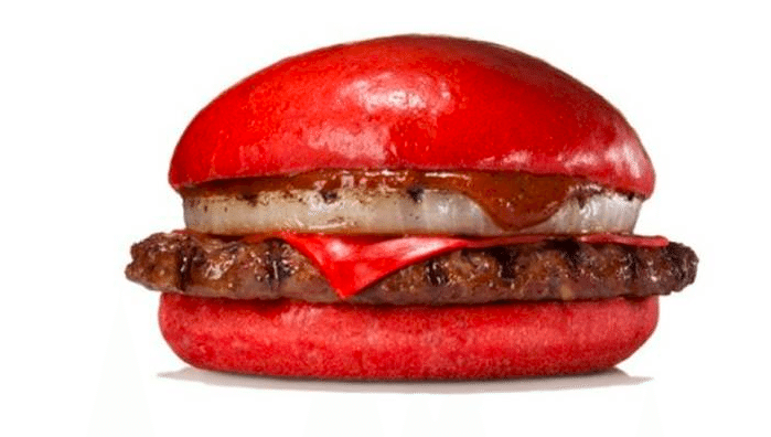 Burger King acts weird again, launches all red burger