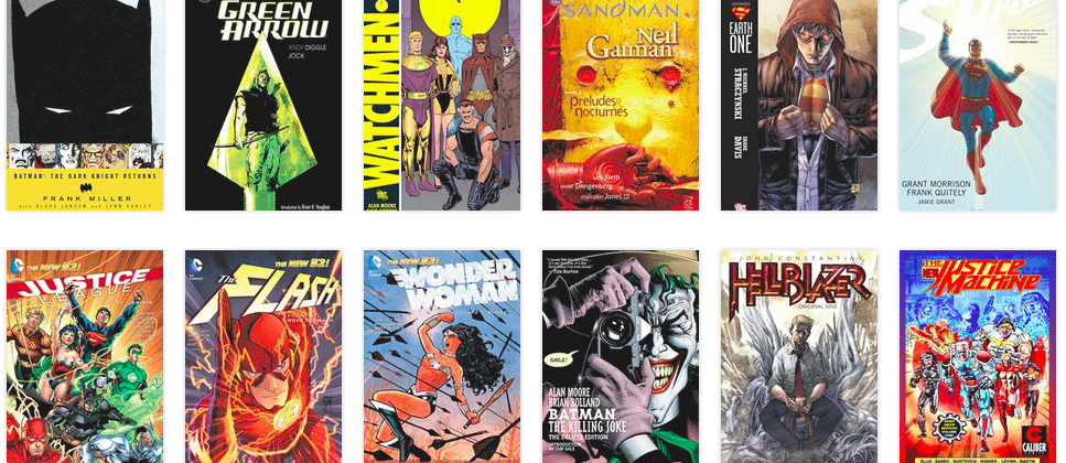 Hoopla strikes digital deal with DC Comics