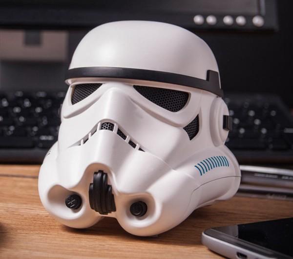 Stormtrooper helmet bluetooth speaker goes on sale in time for 'Force Awakens'