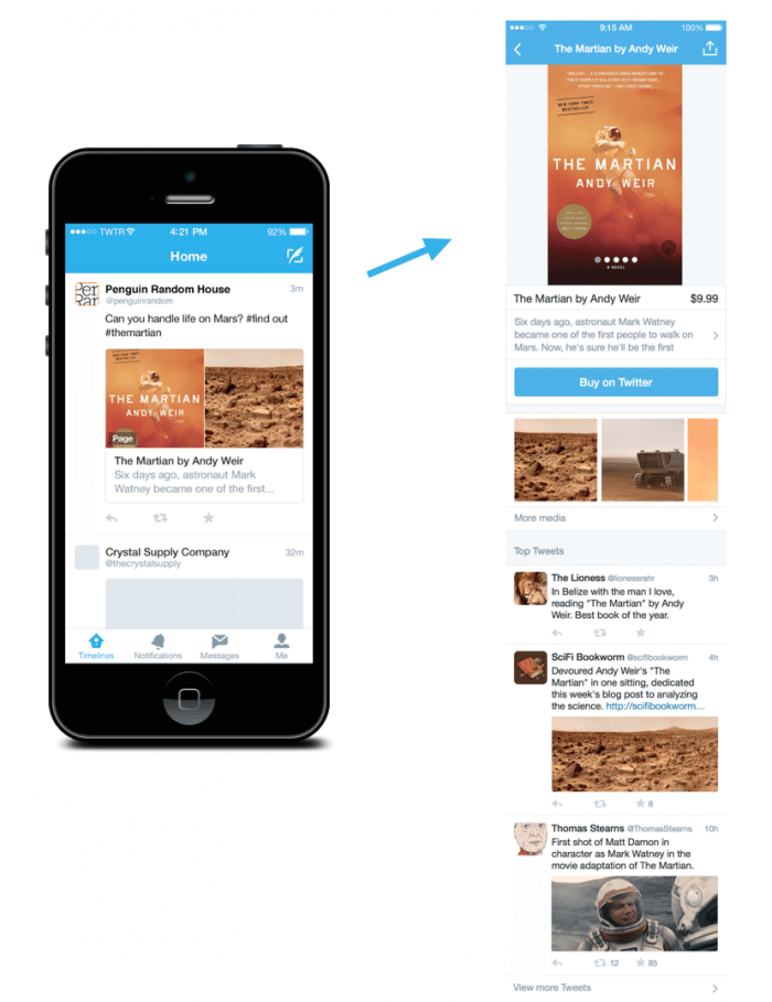 New Twitter feature collects tweets based on products and places
