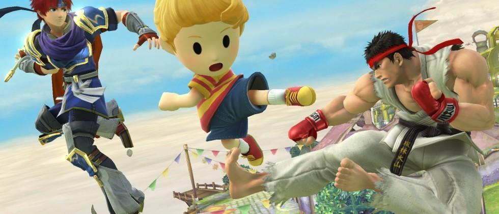Super Smash Bros. adds Ryu & Roy, plus YouTube replays