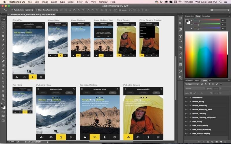 Adobe announces 2015 update to Creative Cloud suite