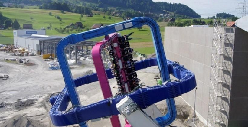 The Tourbillion amusement park ride reaps the whirlwind