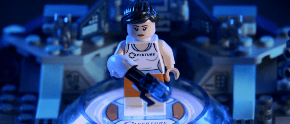 LEGO Dimensions Portal gameplay trailer goes GLaDOS