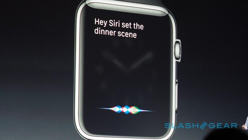 HomeKit control via Siri on Apple Watch