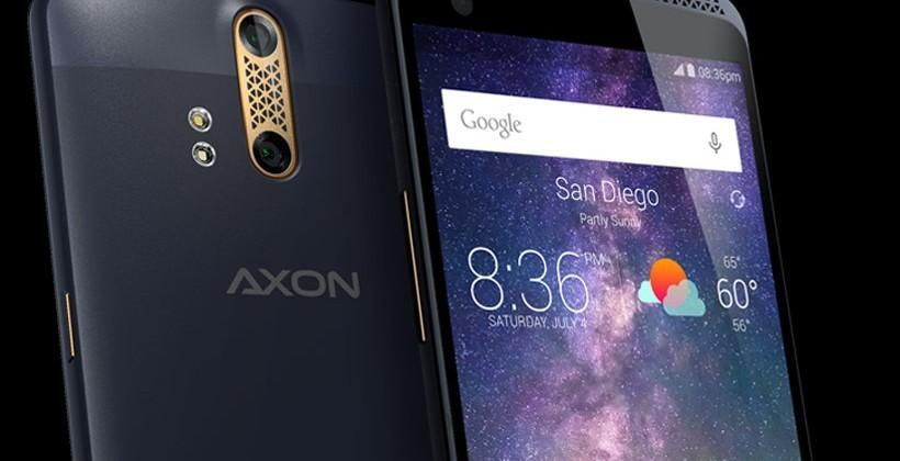 ZTE Axon smartphone coming this summer has dual rear cameras