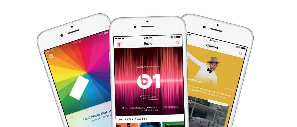 Apple Music released with iOS 8.4