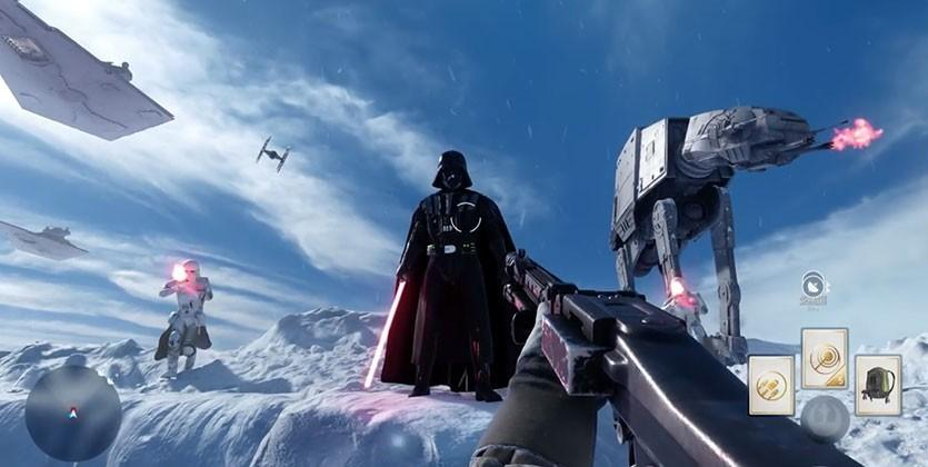 Star Wars Battlefront gameplay trailer shows Hoth multiplayer