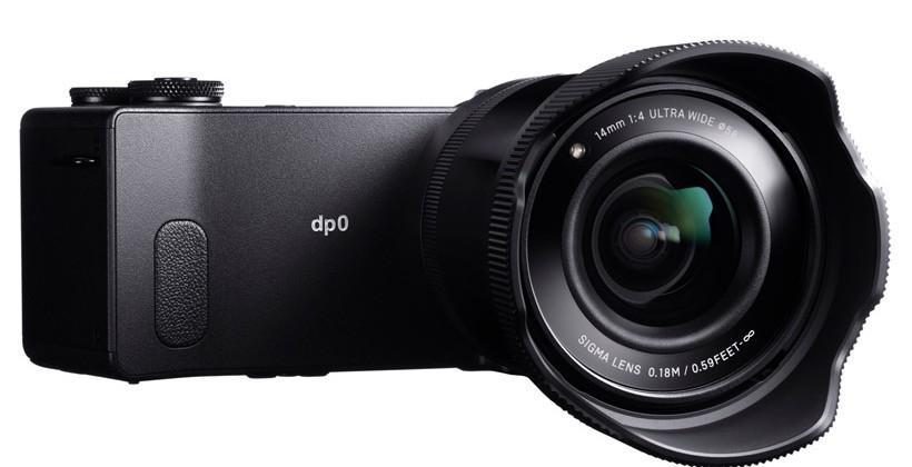Sigma dp0 Quattro camera sports fixed 14mm F4 lens
