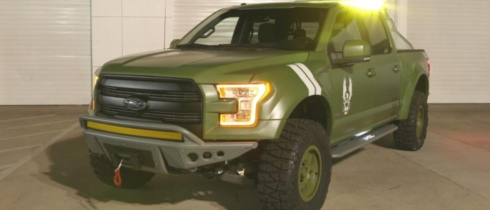 Halo 5 gets a Ford F-150 to celebrate release at E3