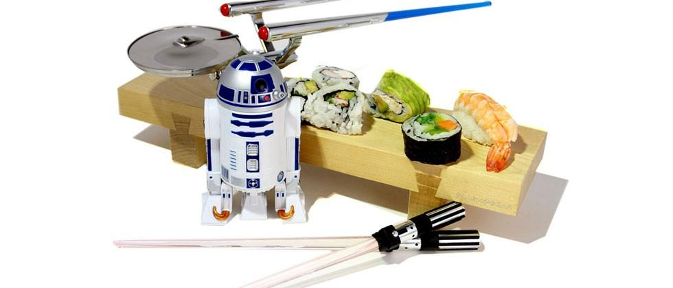 ThinkGeek celebrates International Sushi Day with Star Wars and Trek