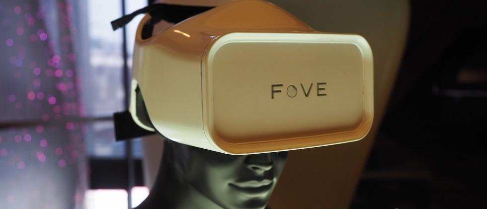 Samsung invests in FOVE eye-tracking VR headset