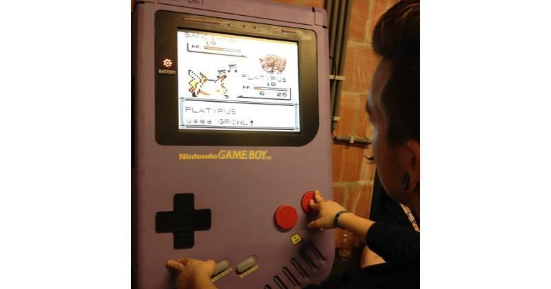 Game Boy XXL: a larger than life trip down memory lane