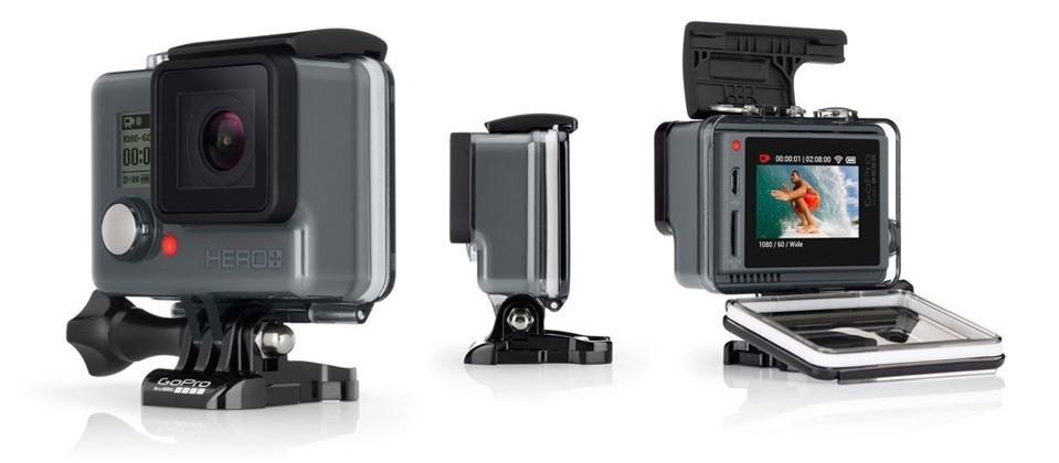 GoPro announces new Hero camera with LCD touchscreen