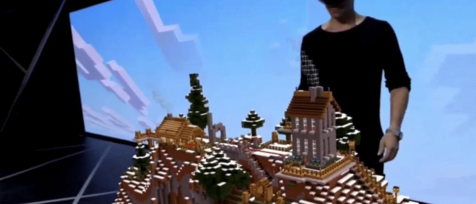 Temper your Minecraft HoloLens enthusiasm