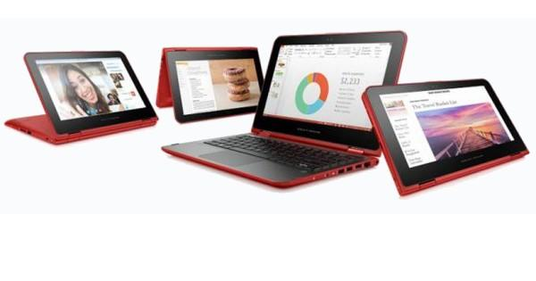 HP goes back to school with convertibles, Chromebook