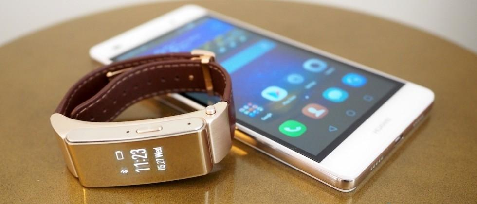 Huawei bakes Jawbone UP health into TalkBand B2