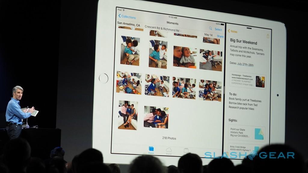 iOS 9 iPad multitasking
