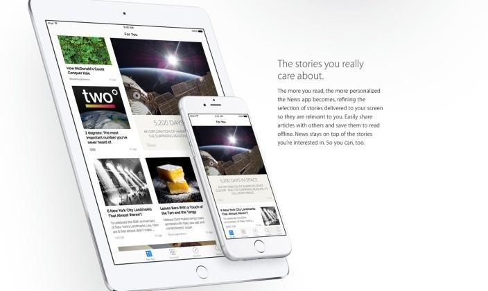 Apple angers news publishers over automatic inclusion in iOS 9 News app