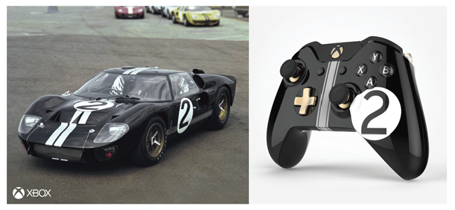 Xbox unveils Ford-inspired controllers to celebrate historic Le Mans race wins