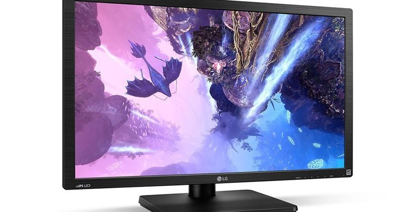 LG 27MU67 4K monitor is first to pack AMD FreeSync tech