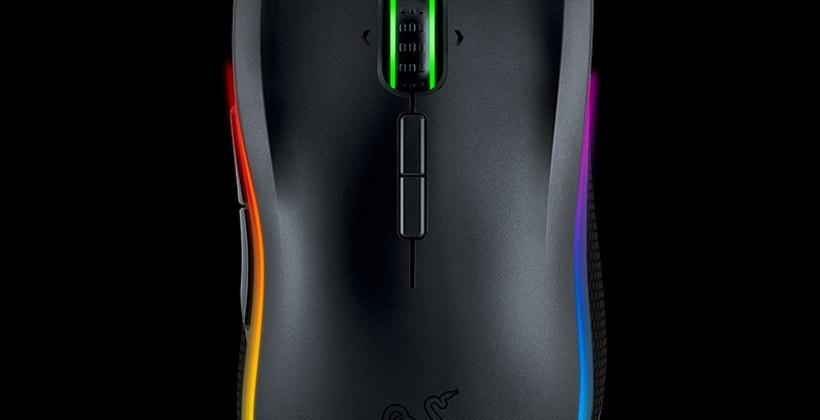 Razer Mamba gaming mouse has adjustable Click Force
