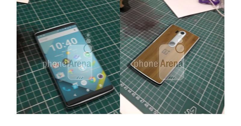 OnePlus 2 front and back sides leaked