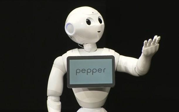 SoftBank's emotion-sensing robot Pepper goes on sale in Japan on June 20