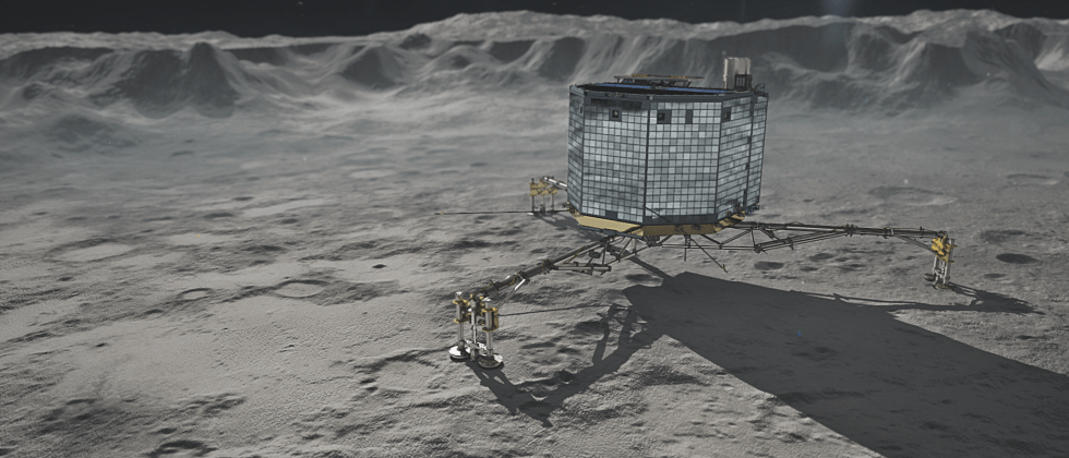 "Philae speaks again: Comet probe ""doing very well"""