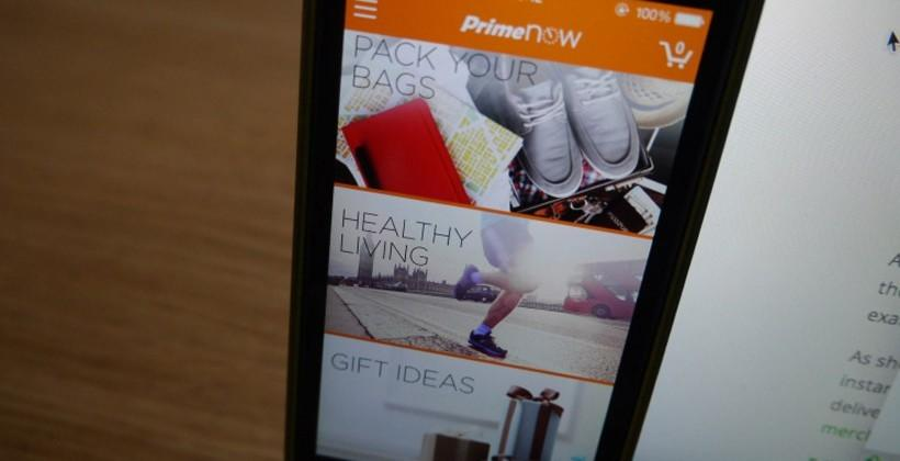 Amazon Prime Now launches in London bringing 1hr delivery
