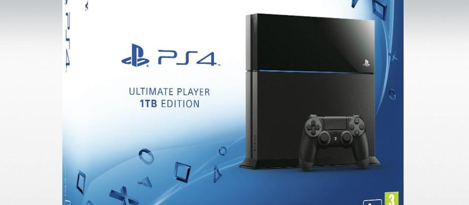 Sony officially announces 1TB PS4