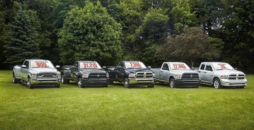 2016 Ram 3500 Heavy Duty truck packs 900 lb-ft of torque
