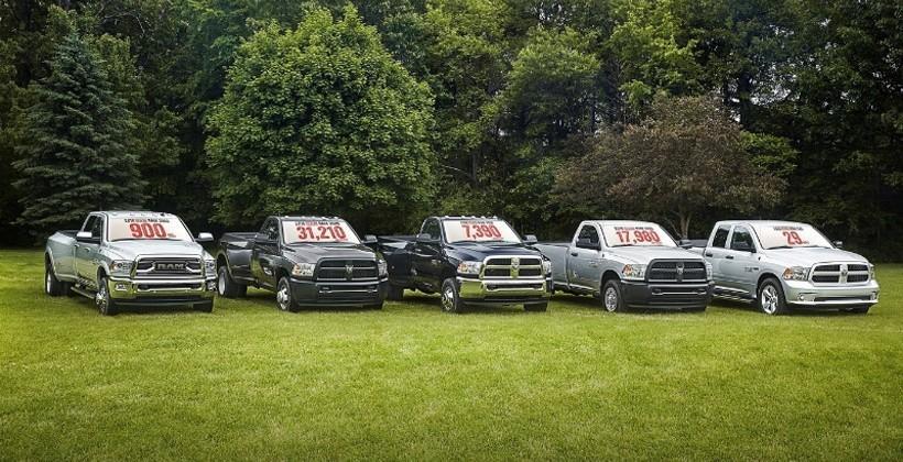 2016 Ram 3500 Heavy Duty truck packs 900 lb-ft of torque