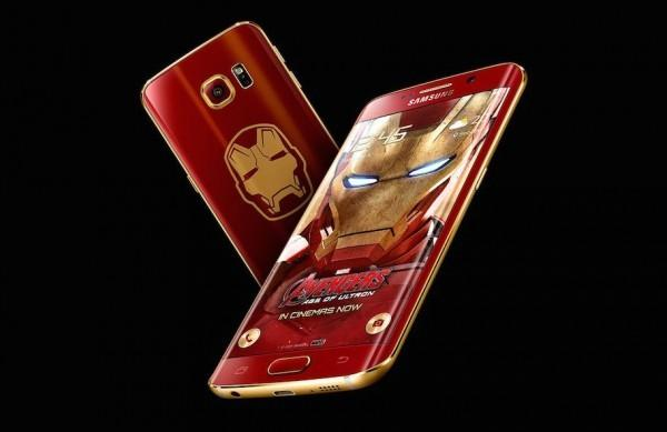 Iron Man Galaxy S6 Edge sells for $91K because it was number 66